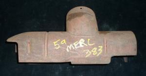 1959 Mercury 383 förvärmare luftrenare