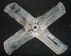 1960 Desoto fläktvinge 4-blad