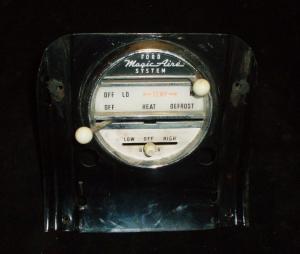 1960 Thunderbird värmereglage