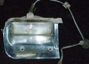 1961-1963 Thunderbird blinkers vänster fram