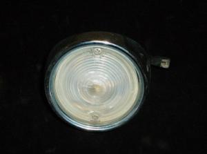 1961 Dodge backljus höger (fint krom, sprickor i glas)