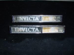 1962 Buick Invicta emblem höger + vänster