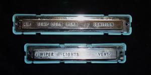 1962 Buick Electra instrumenthus underdel