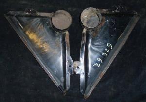 1962 Ford Galaxie defroster luftutblås (par)