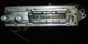 1963 Cadillac radio (ej testad)
