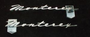 1963 Mercury Monterey custom emblem
