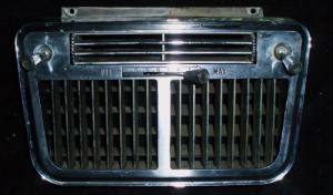 1963 Thunderbird luftutblås