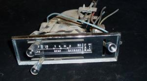 1963 Ford Galaxie värmereglage