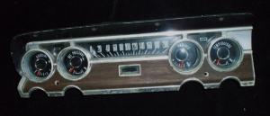 1964 Mercury Comet instrumenthus (defekt amperemeter)