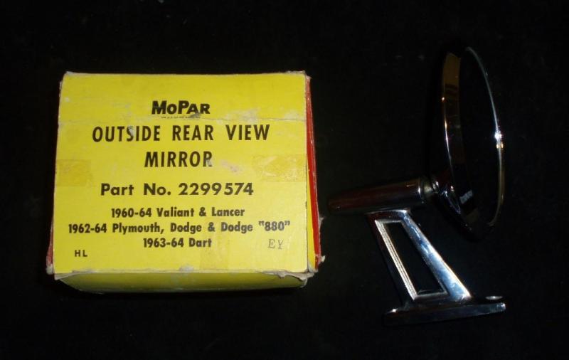1964 Plymouth backspegel n.o.s. nr 2299574