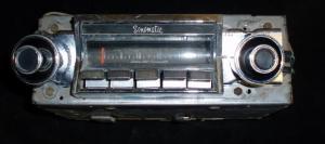 1965 Buick Lesabre radio (ej testad)