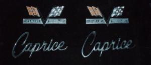 1966 Chevrolet Caprice 396 turbo jet emblem