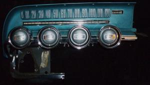 1966 Thunderbird instrumenthus