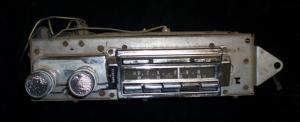 1966 Cadillac am-fm radio(ej testad)