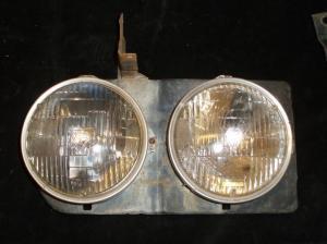 1966 Chevrolet lamppotta höger