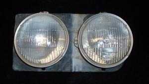 1966 Chevrolet lamppotta vänster