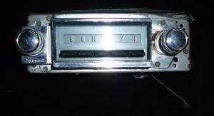 1967 Chevrolet radio (ej testad)