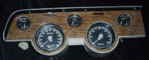 1967 Mercury Cougar instrumenthus