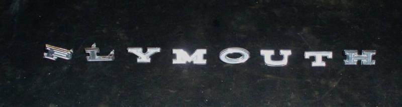 1967 Plymouth emblem text huv