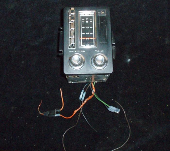 1968 AMC Ambassador radio (ej testad)