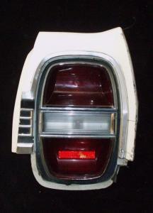 1968 Ford Galaxie höger skärmförlängare + baklampa (skadat)