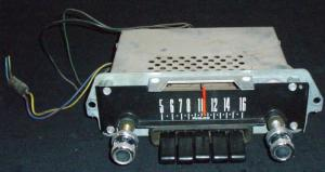 1968 Ford Galaxie radio (ej testad)