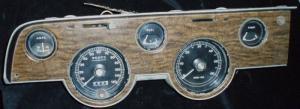 1968 Mercury Cougar instrumenthus