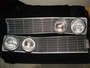 1968 Chrysler New Yorker grill