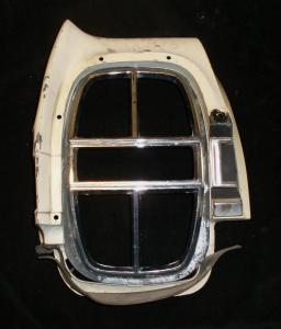 1968 Ford Galaxie skärmförlängare bak vänster