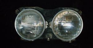 1968 Oldsmobile 98 lamppotta vänster