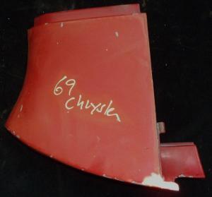 1969 Chrysler skärmförlängare