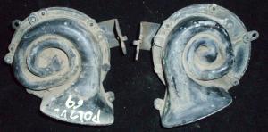 1969 Dodge Polara signalhorn (par)