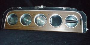 1969 Mercury Montego instrumenthus