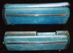 1969 Oldsmobile Cutlass 2dr armstöd (par)