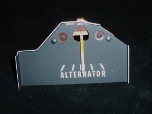 1969 Chrysler amperemeter