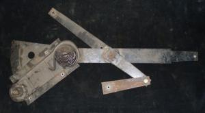 1969 Mercury Montego 2dr ht fönster vevmekanism höger