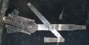 1969 Mercury Montego fönster vevmekanism vänster