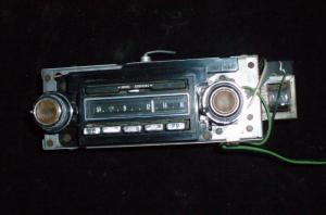 1970 Cadillac radio (ej testad)