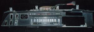 1970 Chrysler 300 instrumenthus, trasig plastram