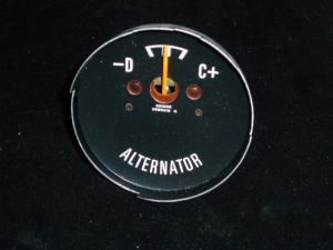 1970 Dodge Charger amperemeter