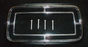 1970 Ford Galaxie kromsarg runt baklampa n.o.s.