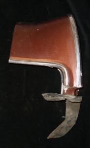 1970 Mercury skärmförlängare höger bak