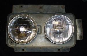 1970 Oldsmobile 98 lamppotta vänster