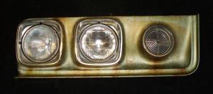 1970 Pontiac Catalina frontdel höger (poriga lampsargar)