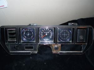 1971 Buick Skylark instrumenthus