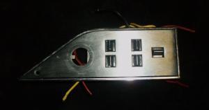 1971 Mercury Monterey elhisspanel vänster