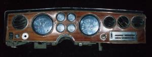 1973-74 Pontiac Trans Am instrumenthus