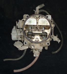1973 Pontiac Grand Prix 455 motor förgasare Rocherster Quadrajet 7043262 JA 2412