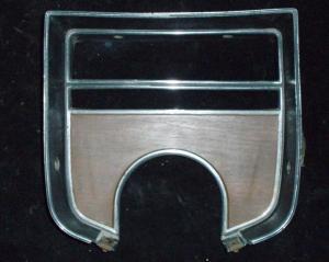 1975 Cadillac krom vid rattstång