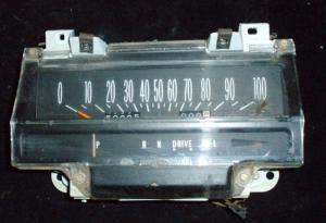 1975 Cadillac hastighetsmätare